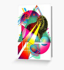 NU LION Greeting Card