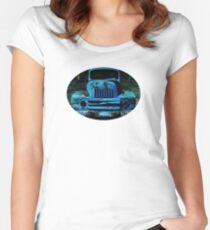 Lomography Truck Photography Women's Fitted Scoop T-Shirt