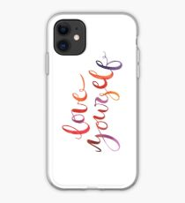 Dich selbst lieben iPhone-Hülle & Cover