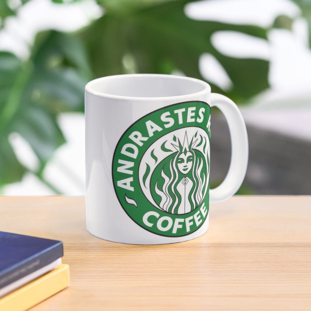 Andrastes Roast Coffee - Inquisition Green Mug