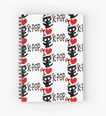 I LOVE K-POP Spiralblock