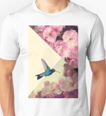 Hummingbird in love Unisex T-Shirt