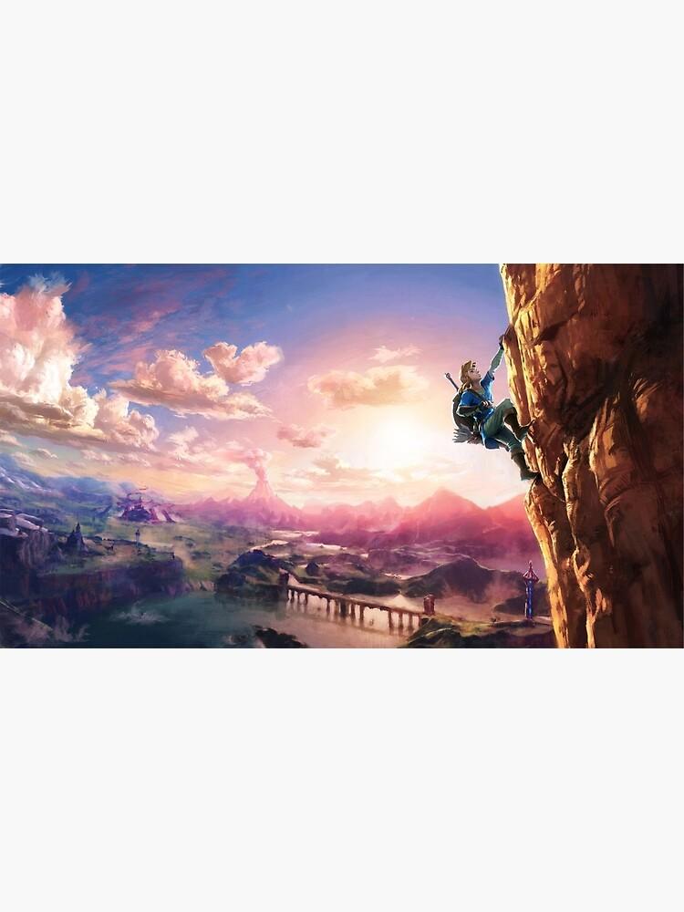 The Legend of Zelda: Breath of the Wild Link by TachyonLight