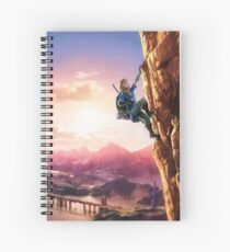 The Legend of Zelda: Breath of the Wild Link Spiral Notebook