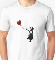 Bansky Fan Art Balloon Unisex T-Shirt