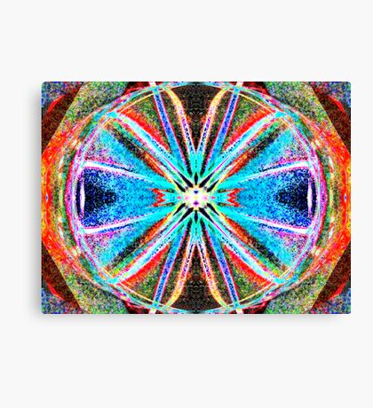 God Is Divine Abstraction #4 Canvas Print