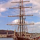 Tall Ship in Wellington by AnnDixon