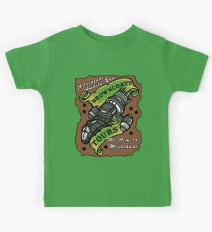 Browncoats Tours Kids Clothes