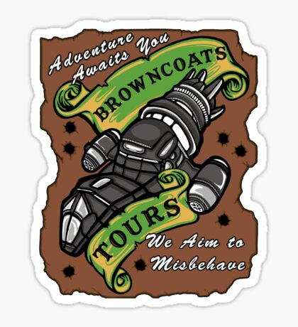 Browncoats Tours Sticker