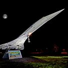 Floodlit Concorde 1 by Colin  Williams Photography