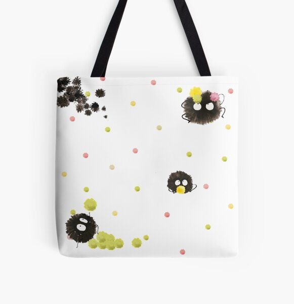 Susuwatari 2 All Over Print Tote Bag
