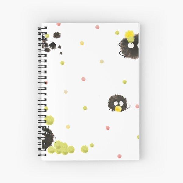 Susuwatari 2 Spiral Notebook