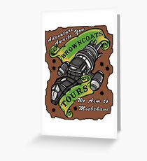 Browncoats Tours Greeting Card