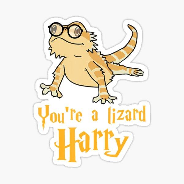 Bearded Dragon    Youre A Lizard Harry Sticker