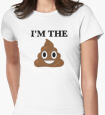 I'm The Sh*t Women's Fitted T-Shirt
