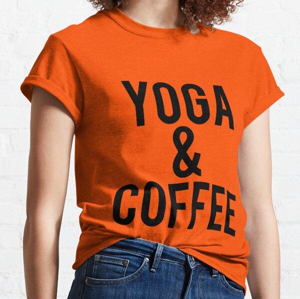 Yoga et café T-shirt classique
