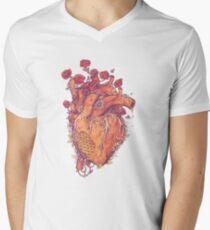 Schatz T-Shirt mit V-Ausschnitt für Männer