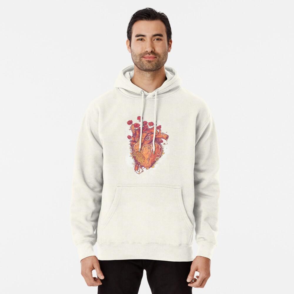 Dulce corazón Sudadera con capucha