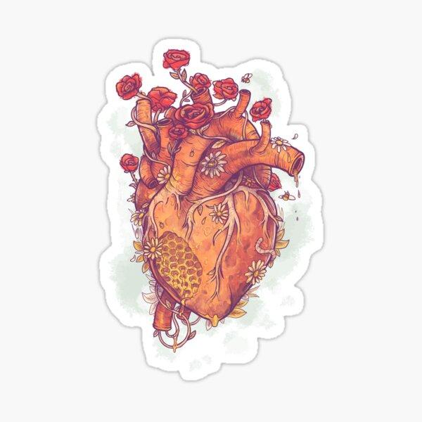 Dulce corazón Pegatina