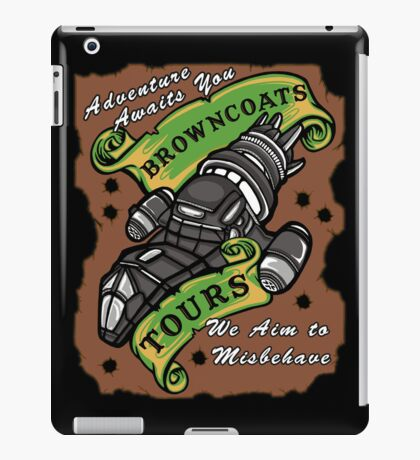 Browncoats Tours iPad Case/Skin