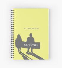 Elementary (Joan & Sherlock) Minimalist Spiral Notebook