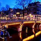 Amsterdam at Night by Anton Alberts