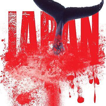 japan whaling tee by aligee
