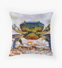 Wanna mess with me! Throw Pillow