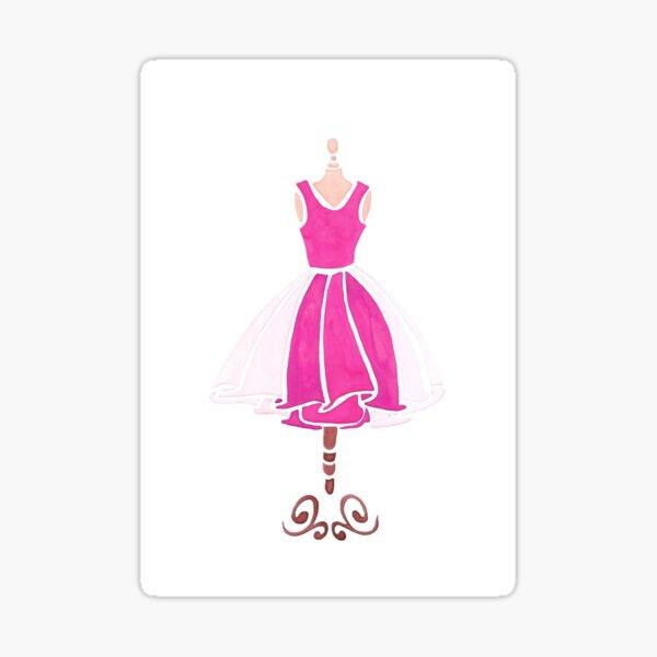 Vintage Mannequin Pegatina