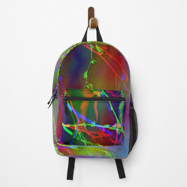 Abstract Tree Branches In Spring Backpack
