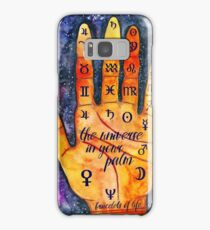 Palmistry and astrology Samsung Galaxy Case/Skin