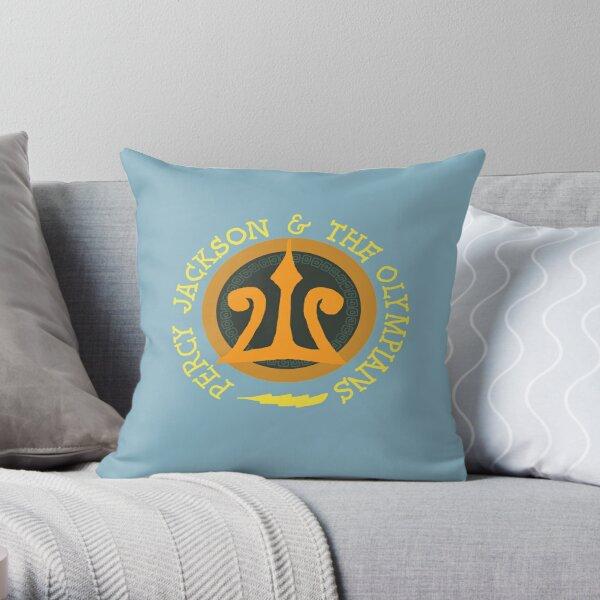 Percy Jackson Logo Throw Pillow
