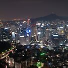 Night Shot of Seoul by Mike Ashley