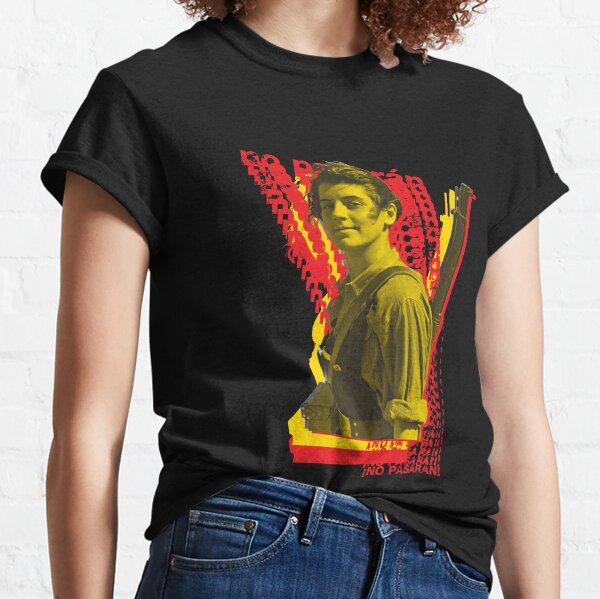 No Pasarán Marina Ginesta Version Classic T-Shirt
