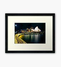 The Other Side - Sydney Opera House - Vivid Sydney Framed Print