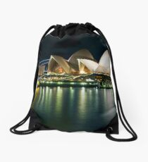 The Other Side - Sydney Opera House - Vivid Sydney Drawstring Bag