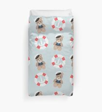 Sailor Bear Duvet Cover