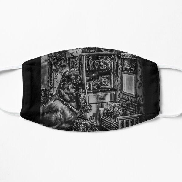 Love Bird Taxidermy Diorama Flat Mask
