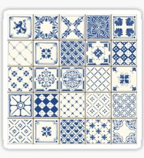 Blue Ceramic Tiles Sticker