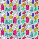 "Ice cream pattern (""mltng"") by bd0m"