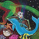 Rainbow Mermaid by Laura Barbosa