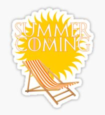 Summer is Coming Sticker