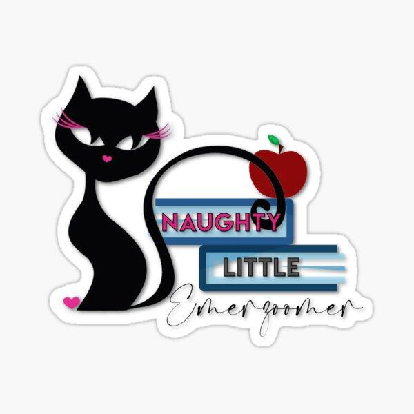 Naughty Little Emerzoomer Sticker
