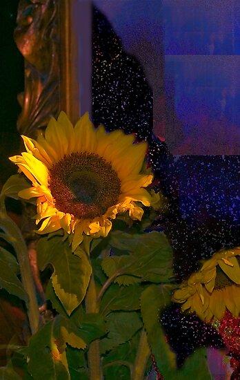 Sunflowers for Madonna by Milada Kessling