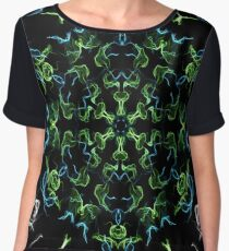kaleidoscope silk design 3 Chiffon Top