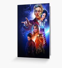 The Capaldi Years Greeting Card