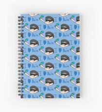 Karamatsu does a mirror Spiral Notebook