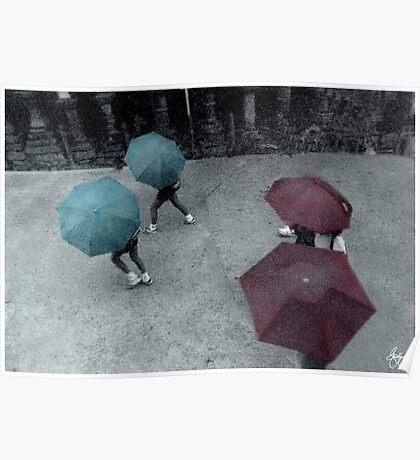 Tokyo Rain Poster