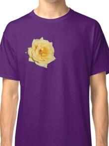 Yellow Rose on Purple Classic T-Shirt
