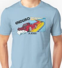 ATARI ENDURO- CLASSIC CARTRIDGE LABEL T-Shirt
